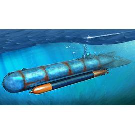"""HobbyBoss HobbyBoss - dt. Kleinst-U-Boot """"Molch"""" - 1:35"""