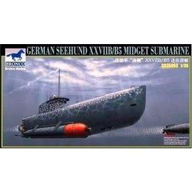 "HobbyBoss Bronco - dt. Kleinst-U-Boot ""Seehund XXVII B/B5"" - 1:35"