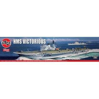 Airfix brit. Flugzeugträger HMS Victorious - Vintage Classics - 1:600
