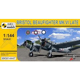 Mark I. Mark I. - Bristol Beaufighter Mk.VI Late (4x camo) - 1:144