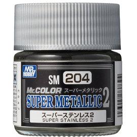 Mr. Hobby Mr. Hobby - Mr. Color Super Metallic 2 - Super Stainless 2