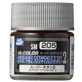 Mr. Hobby Mr. Hobby - Mr. Color Super Metallic 2 - Super Titanium 2