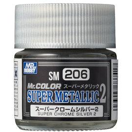 Mr. Hobby Mr. Hobby - Mr. Color Super Metallic 2 - Super Chrome Silver 2