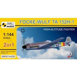 "Mark I. Mark I. - Focke-Wulf Ta 152H-1 ""High-altitude Fighter"" - 1:144"