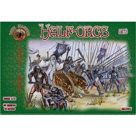 The Red Box The Red Box - Dark Alliance - Half-Orcs Set3 - 1:72