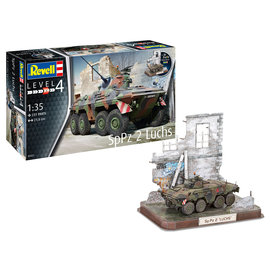 Revell Revell - SpPz2 Luchs & 3D Puzzle Diorama - 1:35