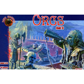 The Red Box The Red Box - Dark Alliance - Orcs Set1 - 1:72