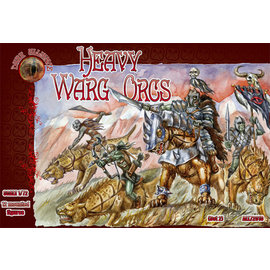 The Red Box The Red Box - Dark Alliance - Heavy Warg Orcs - 1:72