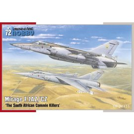 """Special Hobby Special Hobby - Dassault Mirage F.1 AZ/CZ """"South African Commie Killers"""" - 1:72"""