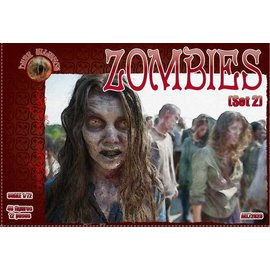 The Red Box The Red Box - Dark Alliance - Zombies Set 2- 1:72
