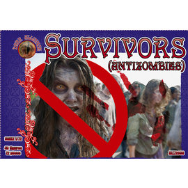 The Red Box The Red Box - Dark Alliance - Survivors (Antizombies) - 1:72
