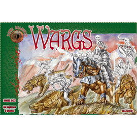 The Red Box The Red Box - Dark Alliance - Wargs - 1:72