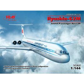 ICM ICM - Ilyushin-62M Soviet Passenger Aircraft - 1:144