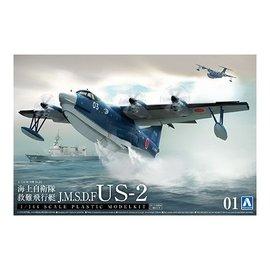 Aoshima Aoshima - ShinMaywa US-2 JMSDF Rescue Flyingboat - 1:144