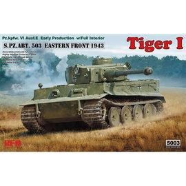 Rye Field Model RFM - PzKpfw. VI Tiger Ausf. E (early) - w/full Interior - 1:35