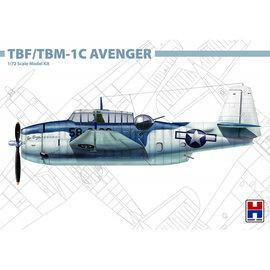 Hobby 2000 Hobby 2000 - Grumman TBF/TBM-1C Avenger - 1:72