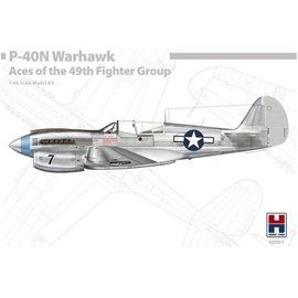 Hobby 2000 Hobby 2000 - Curtiss P-40N Warhawk Aces of the 49th Fighter Group - 1:48