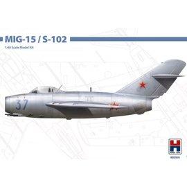 Hobby 2000 Hobby 2000 - Mikojan-Gurewitsch MiG-15 / S-102 - 1:48