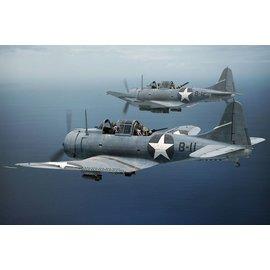 """BRENGUN Brengun - Douglas SBD-3 Dauntless """"Midway"""" - 1:144"""