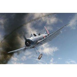 """BRENGUN Brengun - Douglas SBD-3 Dauntless """"Coral Sea"""" - 1:144"""