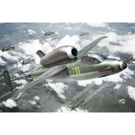 BRENGUN Brengun - Heinkel He 162A Salamander - 1:144