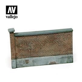 Vallejo Vallejo - Alte Ziegelmauer / Old Brick Wall - 1:35