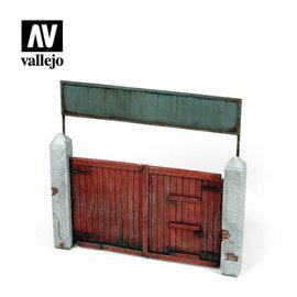 Vallejo Vallejo - Dorftor / Village Gate - 1:35