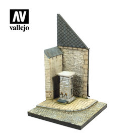 Vallejo Vallejo - Straßenecke mit Brunnen - Normandie / Street Corner with Waterpump – Normandy - 1:35
