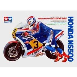 TAMIYA Tamiya - Honda NS500 with Starting Rider - 1:12