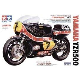 """TAMIYA Tamiya - """"Akai"""" Yamaha YZR500 1980 - Barry Sheene - 1:12"""