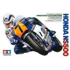 "TAMIYA Tamiya - Honda NS500 with Racing Figure ""Rothmans"" 1983 - 1:12"