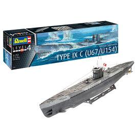Revell Revell - German Submarine Type IXC U67/U154 - 1:72