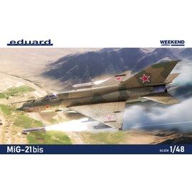 Eduard Eduard - Mikojan-Gurewitsch MiG-21bis - Weekend Edition - 1:48