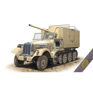 """ACE Model 7,62cm FK.36 (R) auf mZgkw 5t """"Diana"""" Sd.Kfz. 6/3 - 1:72"""