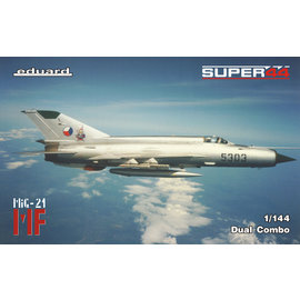 Eduard Eduard - Mikojan-Gurewitsch MiG-21MF in CZ Service Dual Combo - 1:144