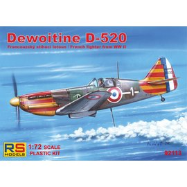 RS Models RS Models - Dewoitine D-520 Vichy - 1:72