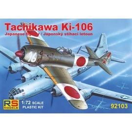 RS Models RS Model - Tachikawa Ki-106 (wooden Nakajima Ki-84) - 1:72