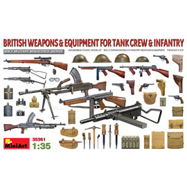MiniArt MiniArt - British Weapons & Equipment for Tank Crew & Infantry - 1:35