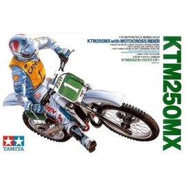 TAMIYA Tamiya - KTM 250MX with Motocross Rider - 1:12