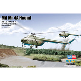 "HobbyBoss HobbyBoss - Mil Mi-4A ""Hound A"" - 1:72"
