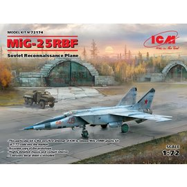 ICM ICM - MiG-25RBF Soviet Reconnaissance Plane - 1:72