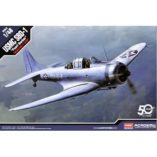"Academy Douglas SBD-1 Dauntless ""Pearl Harbour"" - 1:48"