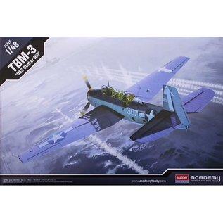 """Academy Grumman TBM-3 Avenger """"USS Bunker Hill"""" - 1:48"""