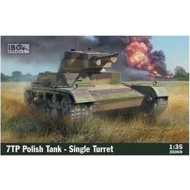 IBG Models IBG - 7TP Polish Tank – Single Turret - 1:35