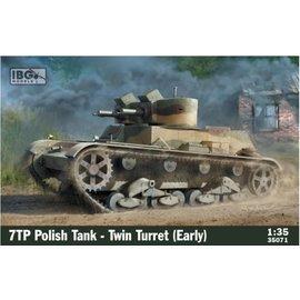 IBG Models IBG - 7TP Polish Tank – Twin Turret (early) - 1:35