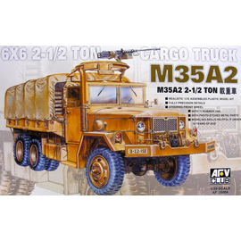 AFV-Club AFV-Club - U.S. M35 A2 2.5ton 6x6 Cargo Truck - 1:35