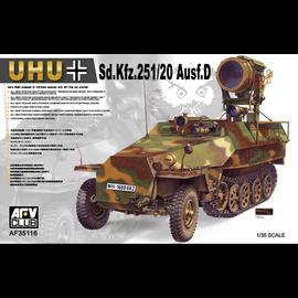 """AFV-Club AFV-Club - Sd.Kfz.251/1 Ausf. D """"Uhu"""" - 1:35"""