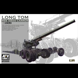 """AFV-Club U.S. M59 155mm Cannon """"Long Tom"""" - 1:35"""