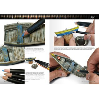 AK Interactive AK Learning 13 - Weathering Pencil Techniques