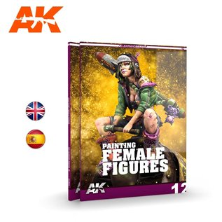 AK Interactive AK Learning 12 - Painting Female Figures
